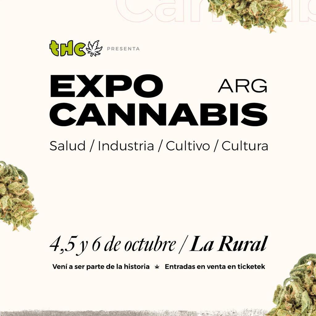 Expo cannabis es un espacio de encuentro para personas interesadas en acceder a la mejor información y a los mejores productos cannábicos de Argentina y el mundo