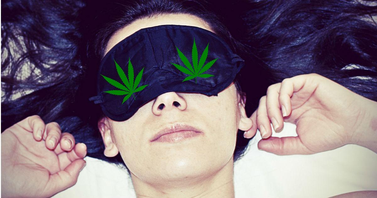 Melatonina o cannabis, ¿qué es mejor para dormir?