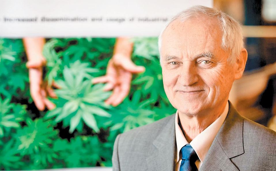 El cannabis medicinal no sólo es paliativo: Lumír Hanuš
